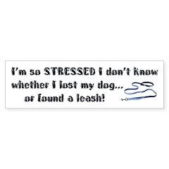 I'm So Stressed Bumper Sticker