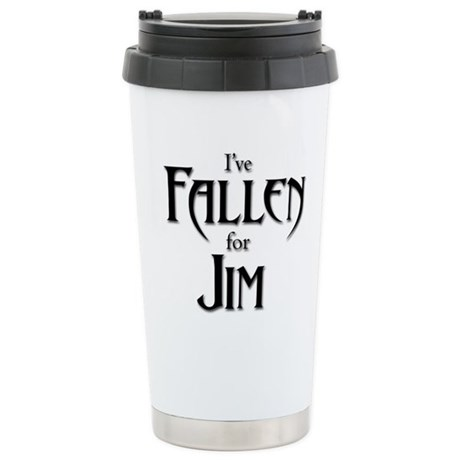 I've Fallen For Jim Stainless Steel Travel Mug