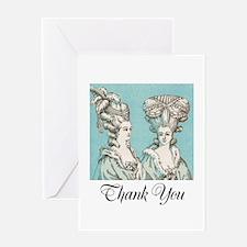 Versailles Thank You Greeting Card