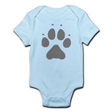 Wolf Paw Print Infant Bodysuit