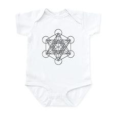 Metatrons Cube Infant Bodysuit