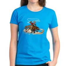 Reining Horse Spin Tee