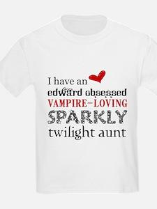 Sparkly Twilight Aunt T-Shirt