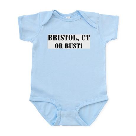 Bristol or Bust! Infant Creeper