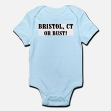 Bristol or Bust! Infant Creeper