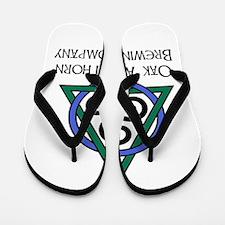 Oak Ash Thorn Brewing Company Flip Flops