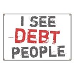 I See Debt People Banner