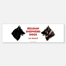 Belgian Shepherd Dog Bumper Bumper Sticker