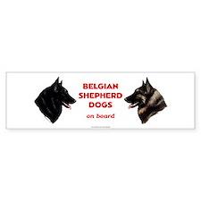 Belgian Shepherd Dog Bumper Sticker