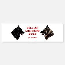 Belgian Shepherd Dog Sticker (Bumper)