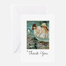 Mary Cassatt Thank You Greeting Card