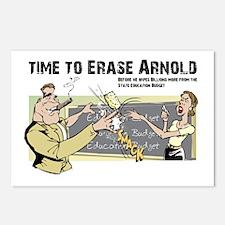 Erase Arnold Postcards (Package of 8)