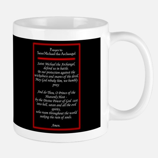 St. Michael - Mug with Prayer