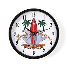 Banzai Pipeline Wall Clock