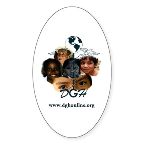 Doctors for Global Health Oval Sticker