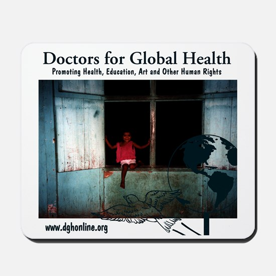 Doctors for Global Health Mousepad