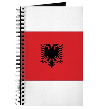 Albanian Flag Journal