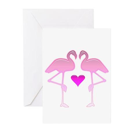 Flamingo Love Cards (Pk of 10)