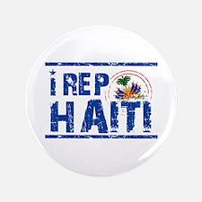 """I rep Haiti 3.5"""" Button (100 pack)"""