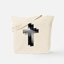 3D Cross Tote Bag