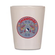 Shanghai Dragons Shot Glass