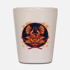 Samurai Stamp Shot Glass