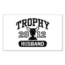 Trophy Husband 2012 Decal