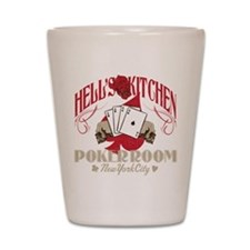 Hell's Kitchen Poker Shot Glass