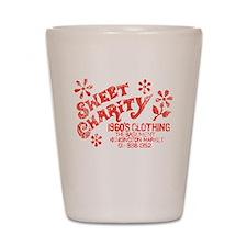 Sweet Charity Shot Glass
