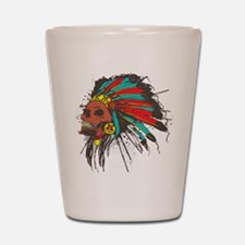 War Chief Shot Glass
