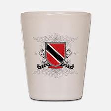 Trinidad and Tobago Shield Shot Glass