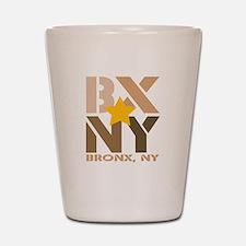 BX, Bronx Brown Shot Glass
