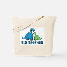 Big Brother Dino Tote Bag