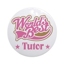 Tutor Gift Ornament (Round)