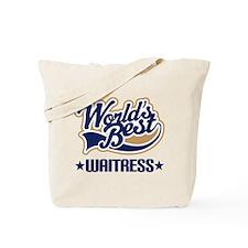 Waitress Gift Tote Bag