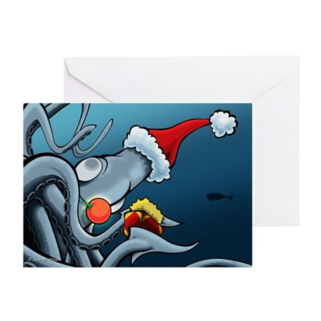 Rudolph The Red Nosed... Greeting Cards (Pk of 10)