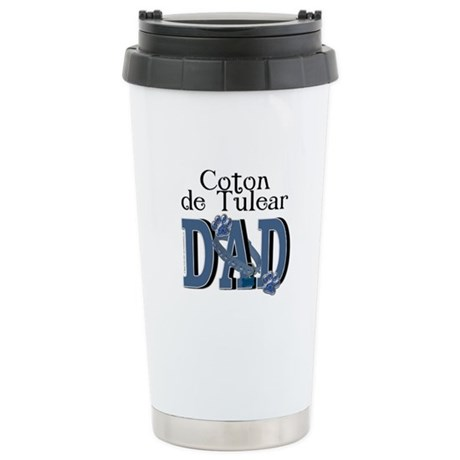 Coton de Tulear DAD Stainless Steel Travel Mug