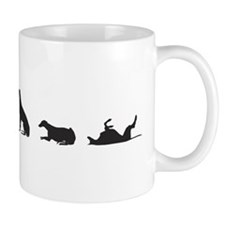 Greys in Silhouette Mug