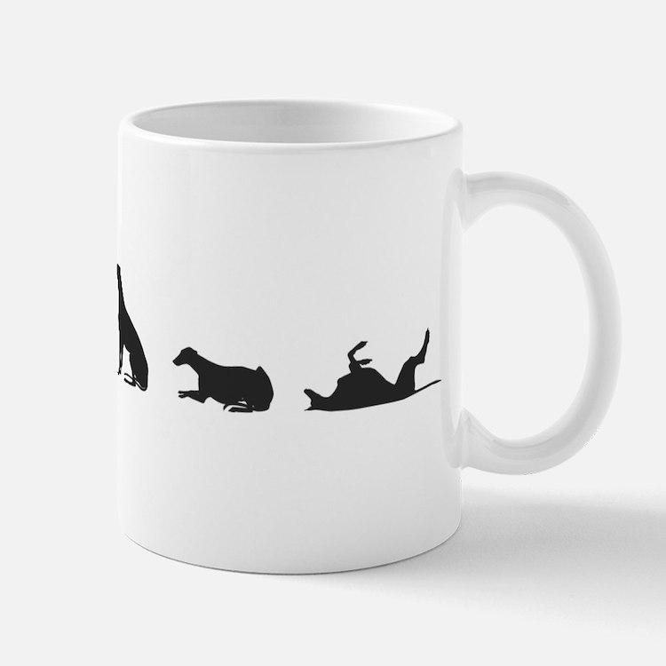 Greys in Silhouette Mug