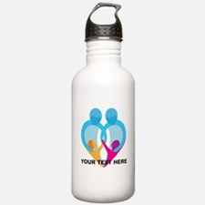TWO DADS Water Bottle
