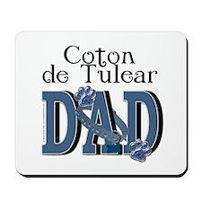 Coton de Tulear DAD Mousepad