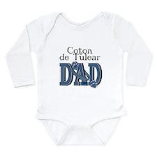 Coton de Tulear DAD Long Sleeve Infant Bodysuit