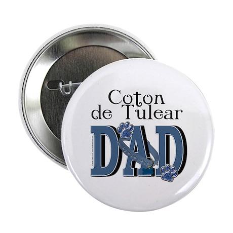 """Coton de Tulear DAD 2.25"""" Button (10 pack)"""