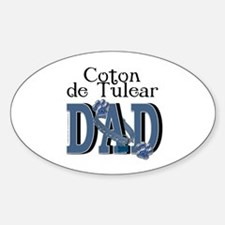 Coton de Tulear DAD Decal