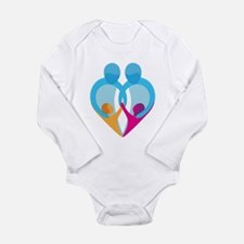 TWO DADS Long Sleeve Infant Bodysuit