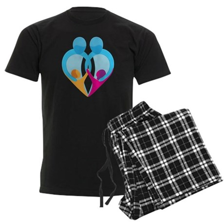 TWO DADS Men's Dark Pajamas