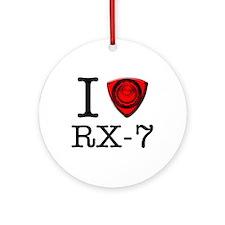 Funny Rx7 Ornament (Round)