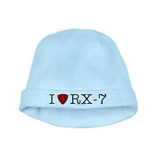 Cute I heart baby hat