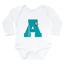 A - Air Force Long Sleeve Infant Bodysuit