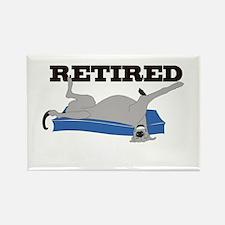 Retired Rectangle Magnet